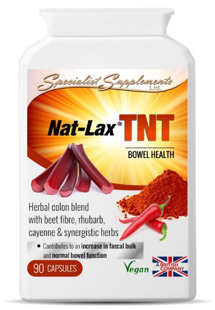 Nat-Lax TNT x 90 Veg-Capsules;  Strong Colon Cleanse; Specialist Supplements